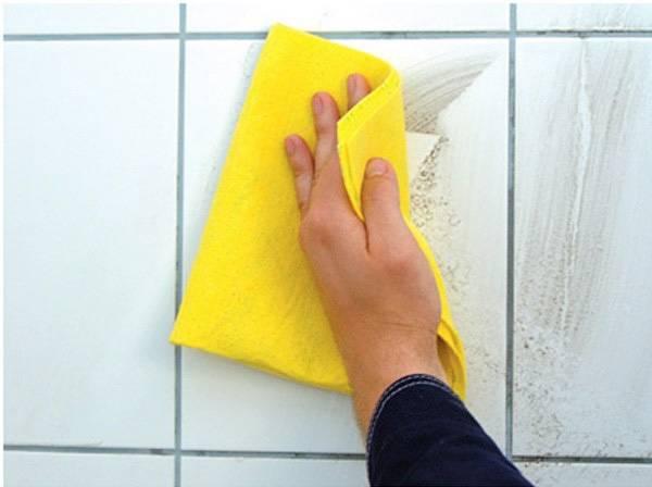 Ткань для протирания плитки