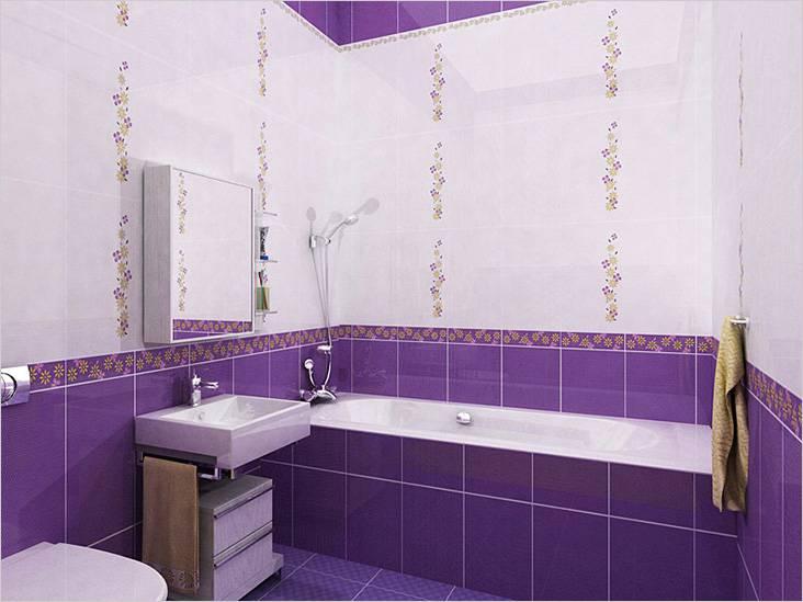 В этой ванной применили затирку одного цвета