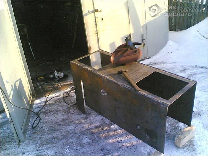 Изготовление котла в домашних условиях