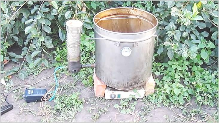 Газогенератор подключили к емкости