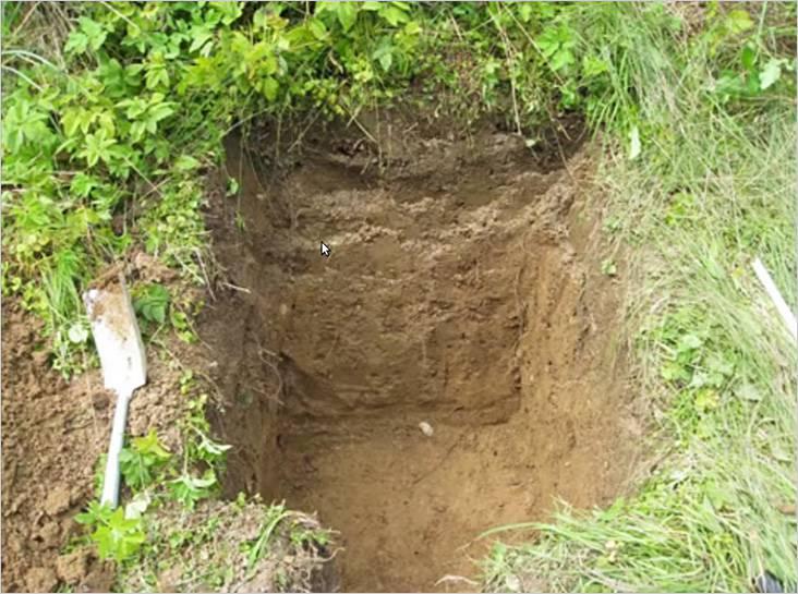 Выли яму 60×60 сантиметров