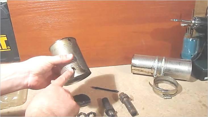 Сделаем небольшое отверстие для подающей воздух трубки