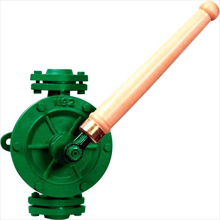 Крыльчатый насос для воды имеет небольшие размеры и маленькую производительность