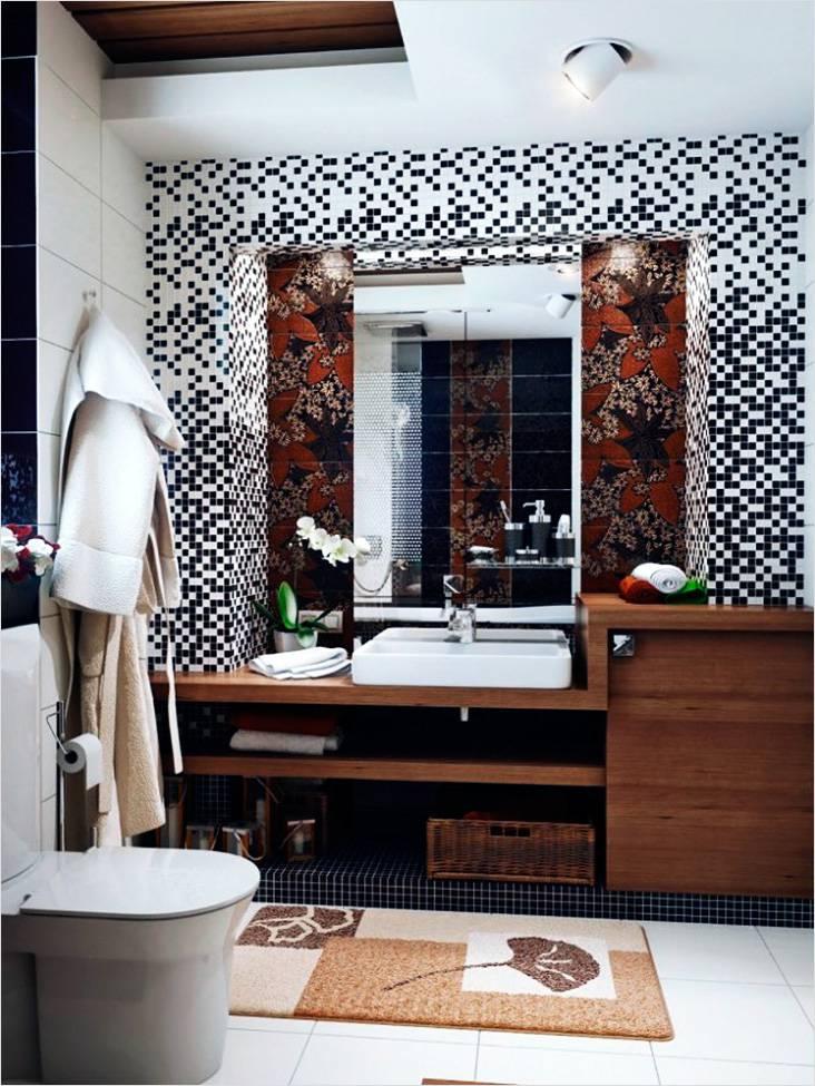 Мозаика и яркий цветочный принт — это лишь некоторые особенности японского стиля