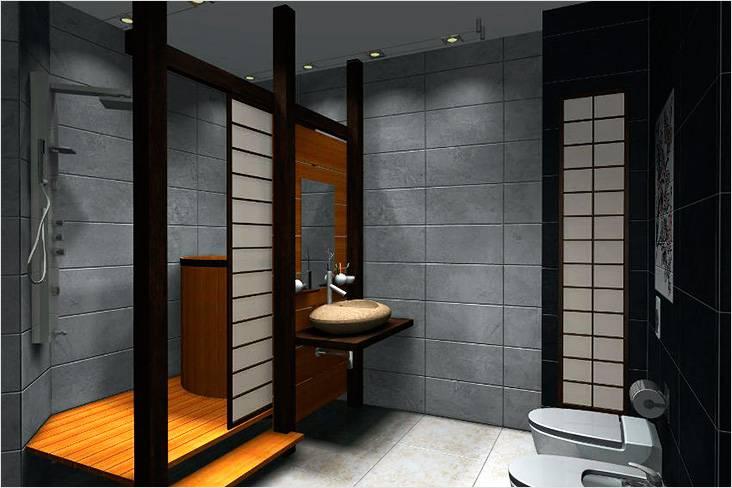 Натуральные материалы — это главная особенность японского стиля