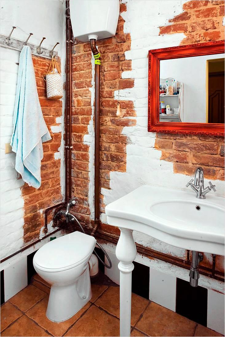 Неоштукатуренные стены, старый пол и открытые коммуникации — так характерны для стиля лофт
