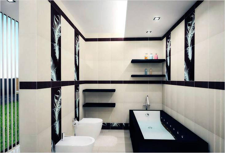 Современный подход в дизайне ванной в японском стиле