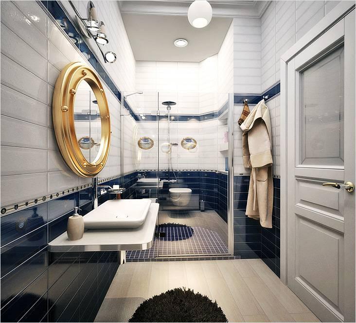 В этой ванной чувствуешь себя капитаном корабля