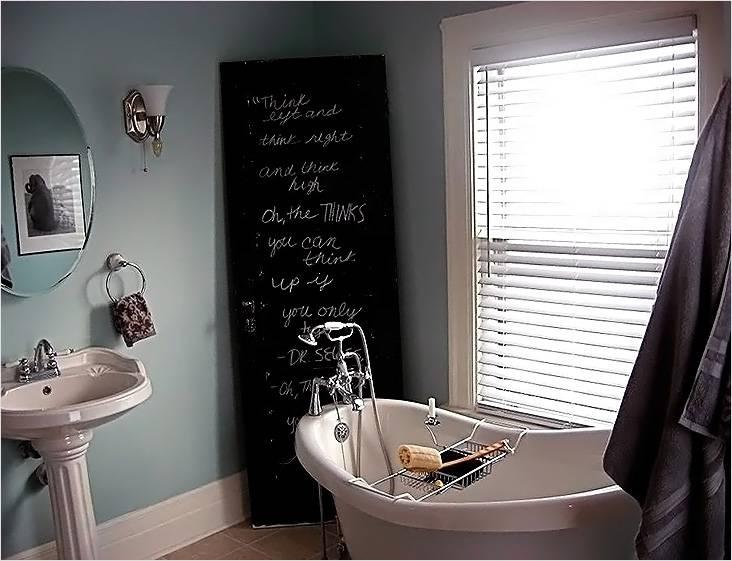 Винтажный стиль, как вариант оформления компактной ванной