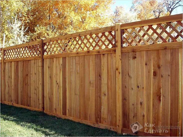 Забор-пергола