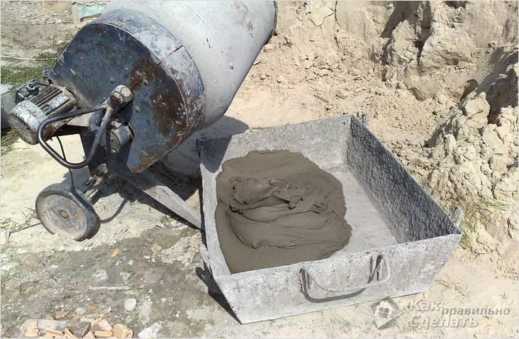 какой цемент брать для фундамента