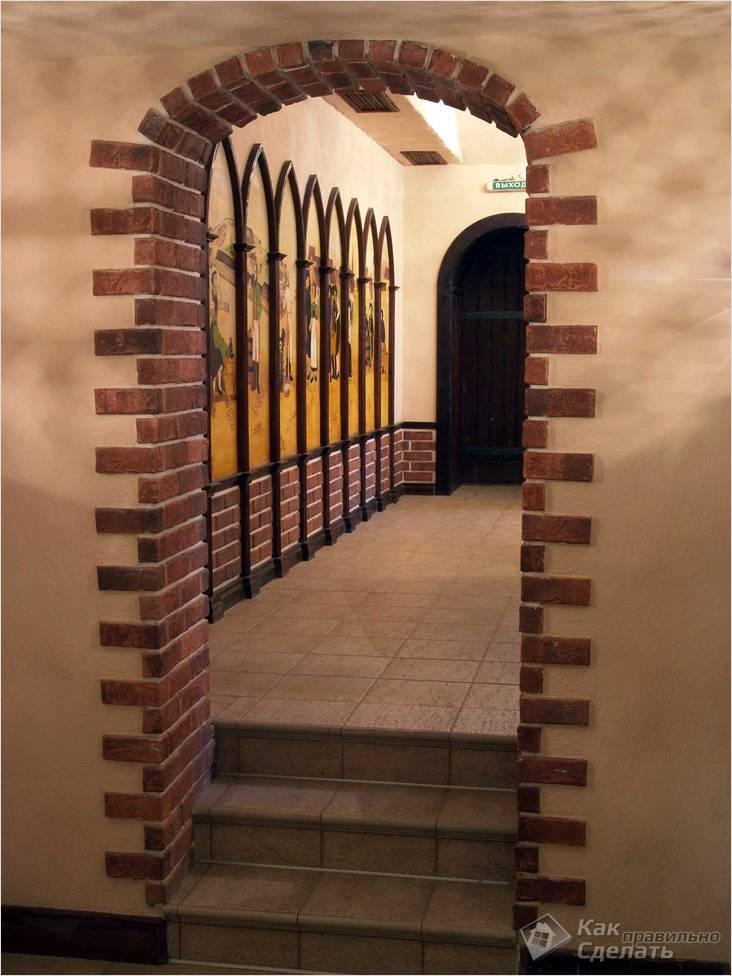 Декор арки в квартире своими руками