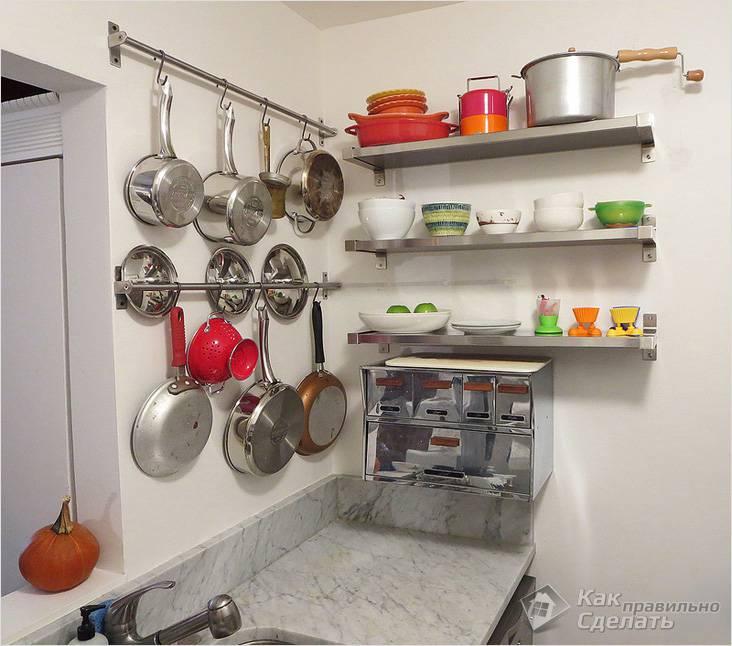 Как оформит кухню своими руками
