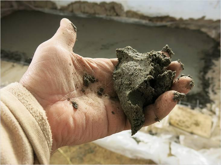 Полусухая стяжка своими руками, Коломна (фото)