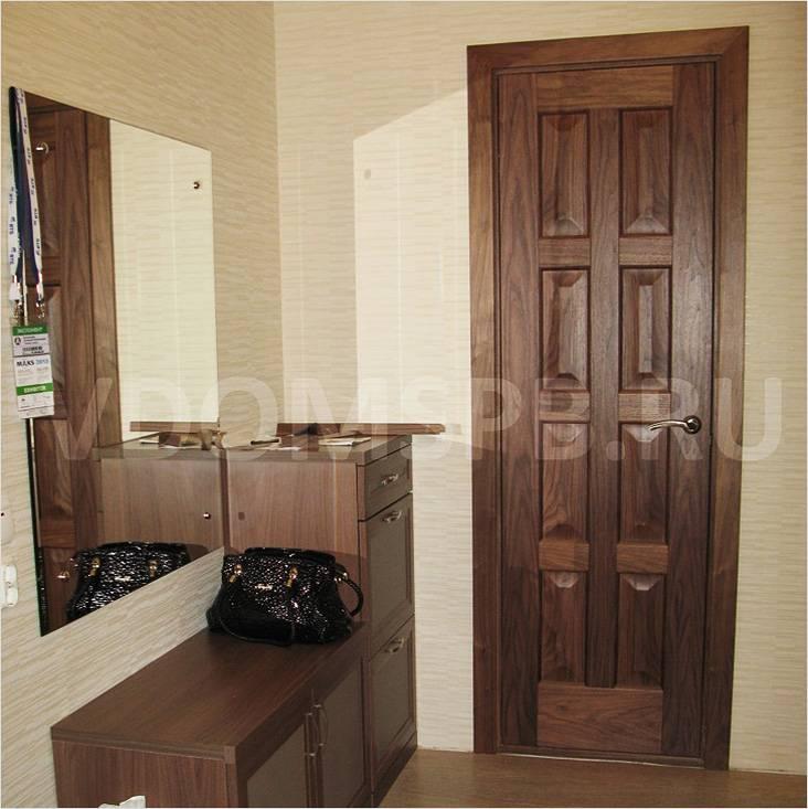 Что такое шпонированные двери и какие лучше, Коломна (фото)