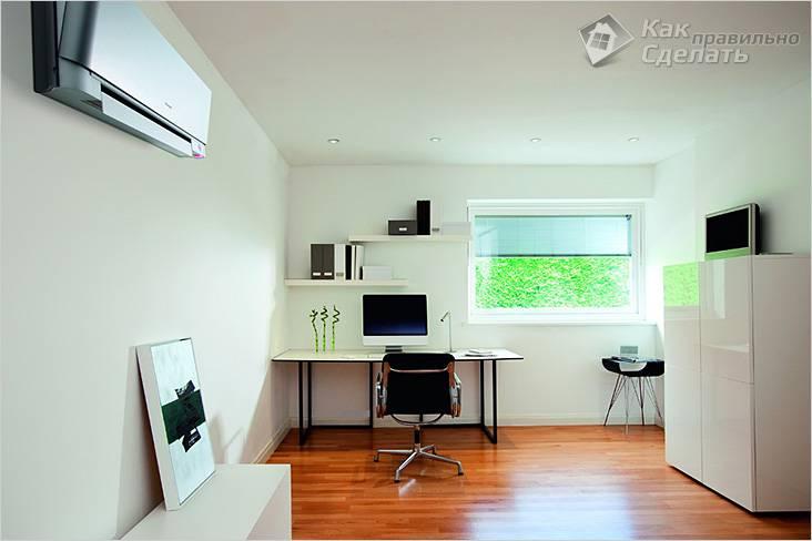 Где правильно установить кондиционер в квартире. Общие правила для установки кондиционера