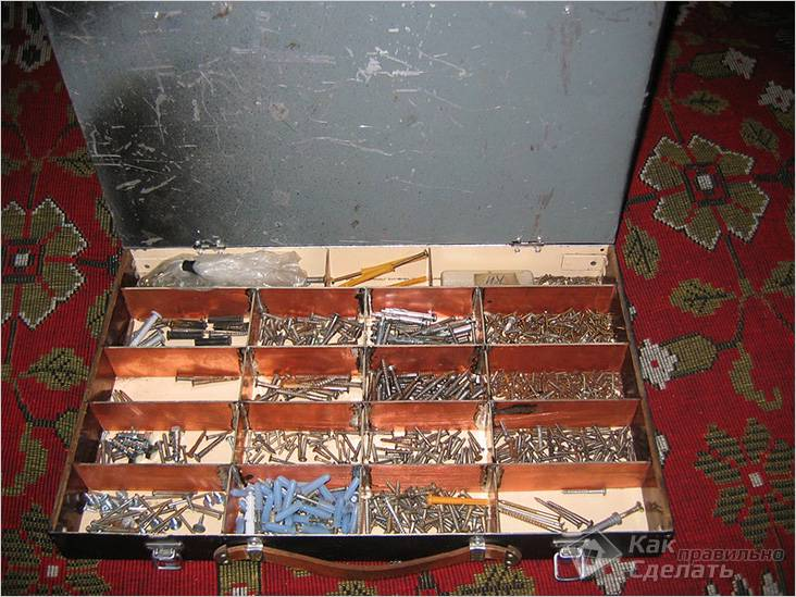 Металлический органайзер