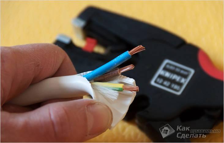 Многожильный многопроволочный кабель