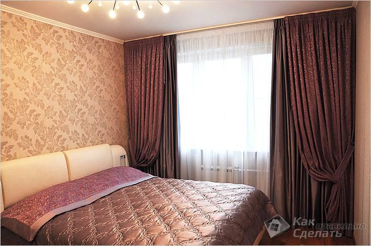 Плотные-портьерные ткани для штор в спальню