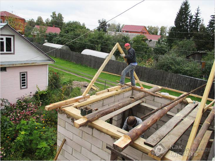 Самостоятельное строительство
