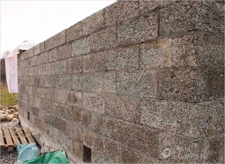 Стены получаются ровными