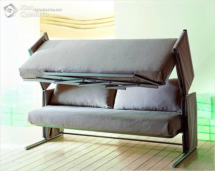 Виды дивана трансформера