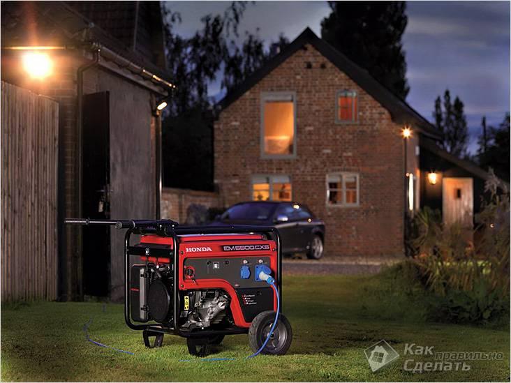 Подбираем генератор по мощности