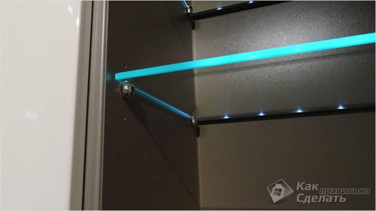 Подсветка, организованная с помощью спецпрофиля