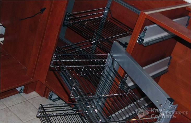 Сборка кухонного шкафчика