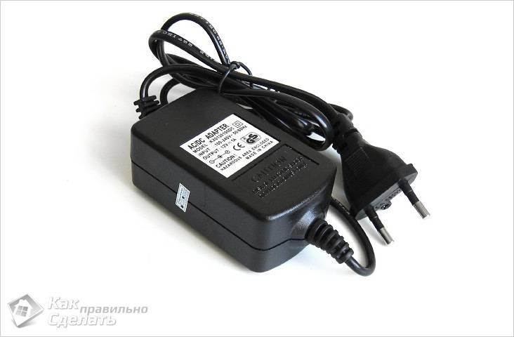 Блок питания для камеры видеонаблюдения 12W,12V 1A