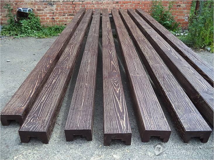 Пустотелые деревянные балки