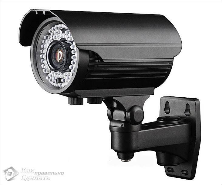 Камера видеонаблюдения варифокальная