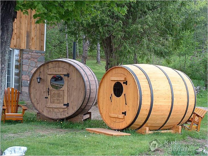 Две бани на одном участке