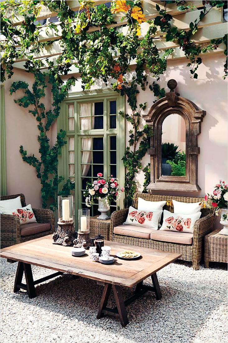 Летняя кухня с верандой