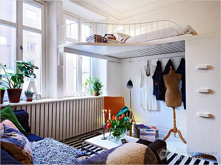 Второй этаж в квартире