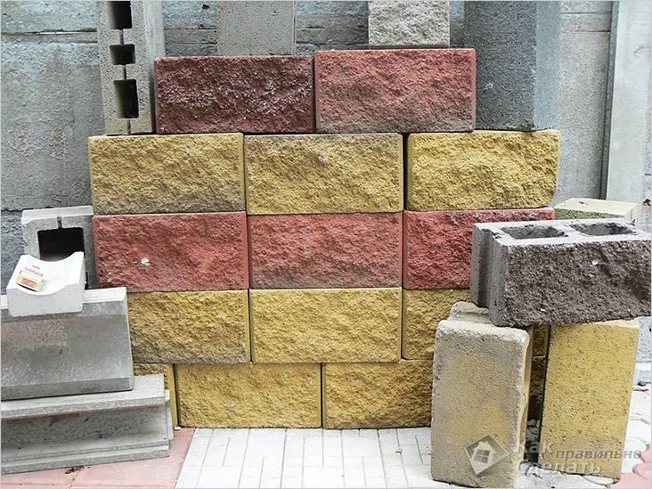 Легкие блоки с декоративной отделкой