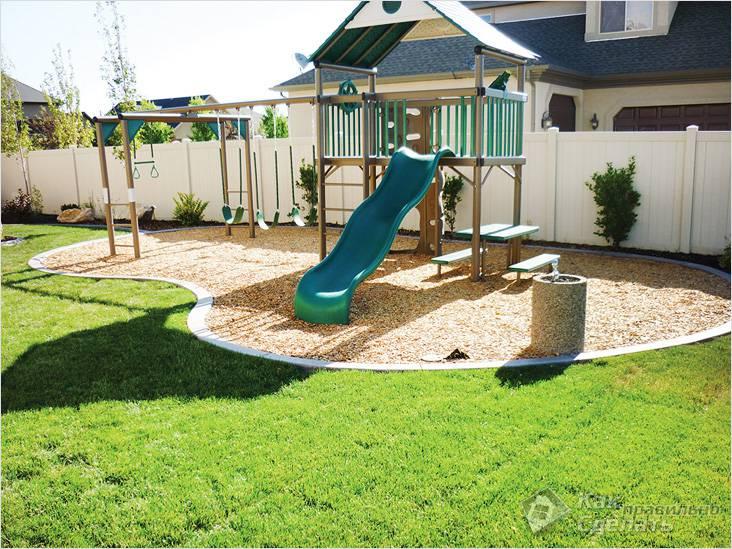 Детская площадка должна быть видна родителям
