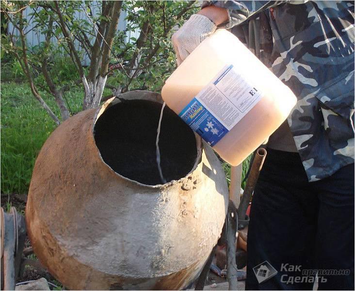 Добавление пластификатора в раствор