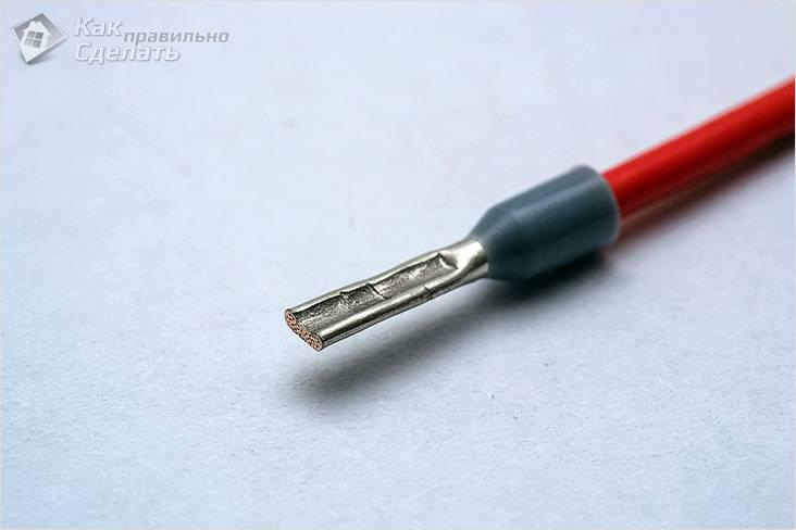 Соединение алюминиевых и медных проводов между собой