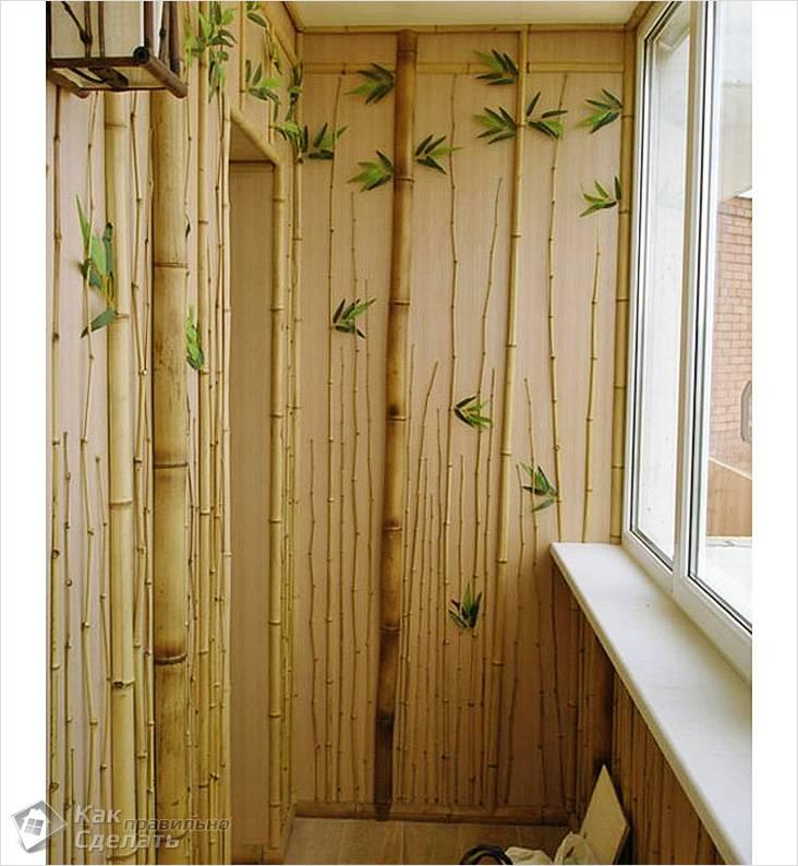 Бамбуковые панели для стен фото