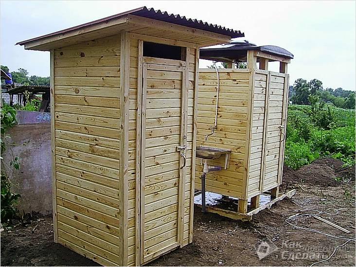 Готовые кабинки туалетов и душевых