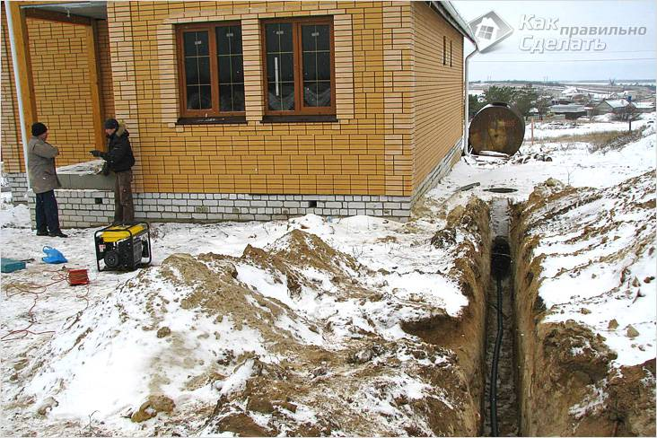 Подготовка к монтажу водопровода