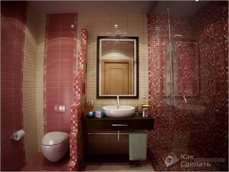 Дополнительные перегородки в ванной