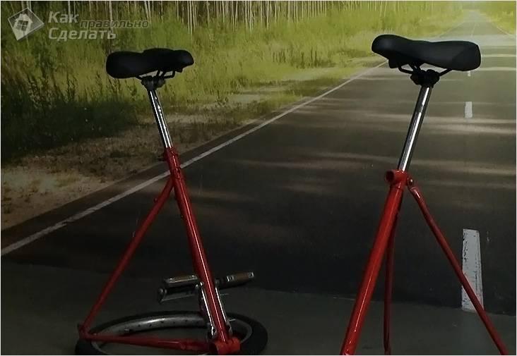 Барные стулья из велосипеда