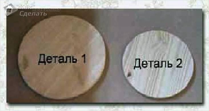 Деталь 1 и 2