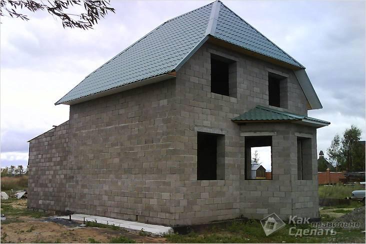 Строительство дома своими руками керамзитобетон ооо фибробетон капремонт отзывы