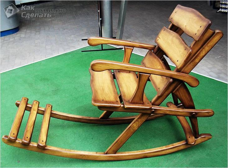 Самодельный стул-качалка