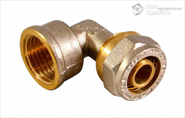 Фитинг для соединения металлопластиковой трубы с трубами из других материалов