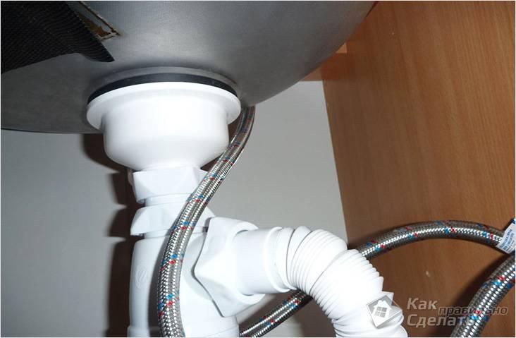 Как подключить раковину - подключение умывальника