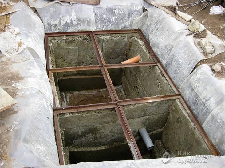 Самостоятельно изготовленный из бетона